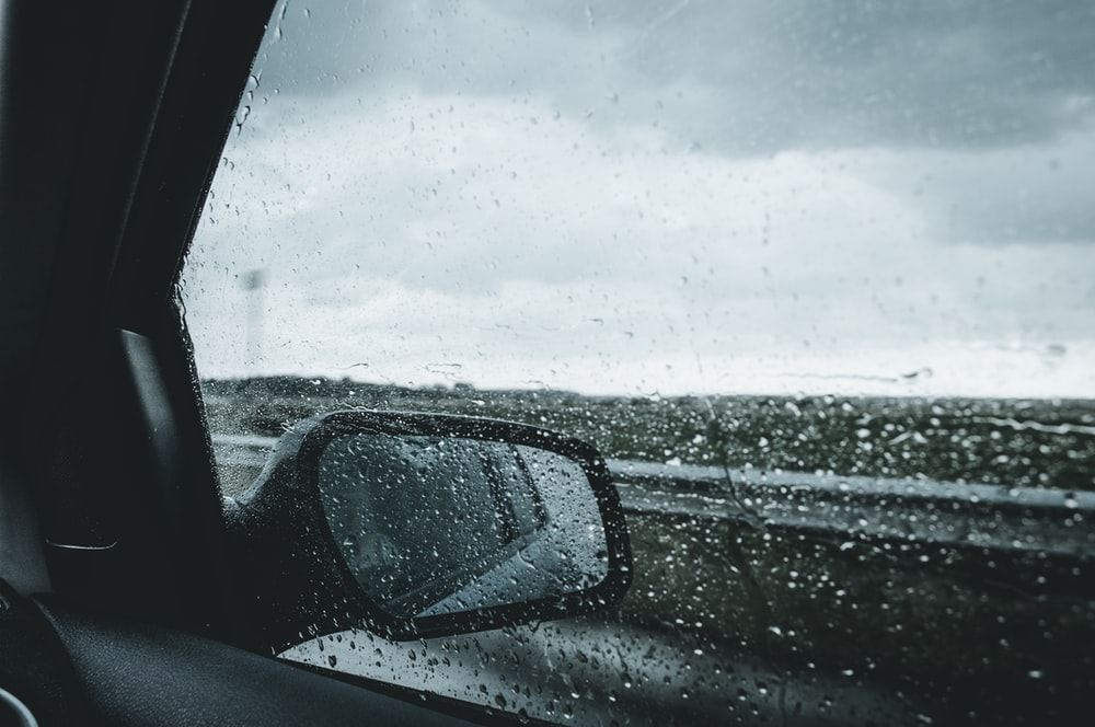 car side-view mirror