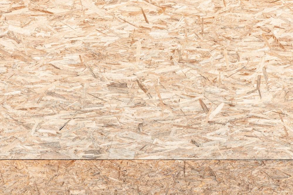 brown plywood