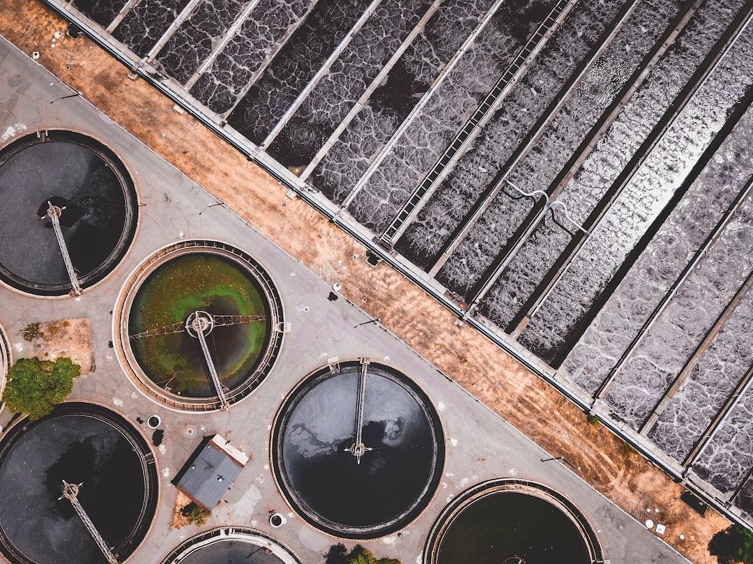 Filtration ponds