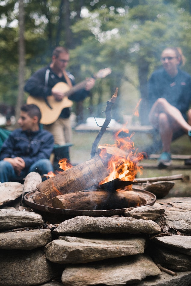 put out campfire unwritten rules of camping