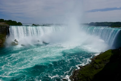 waterfalls in landscape photography niagara falls zoom background