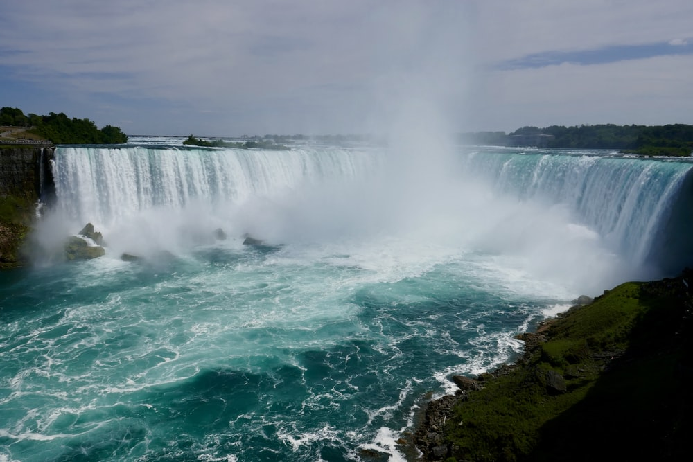 waterfalls in landscape photography