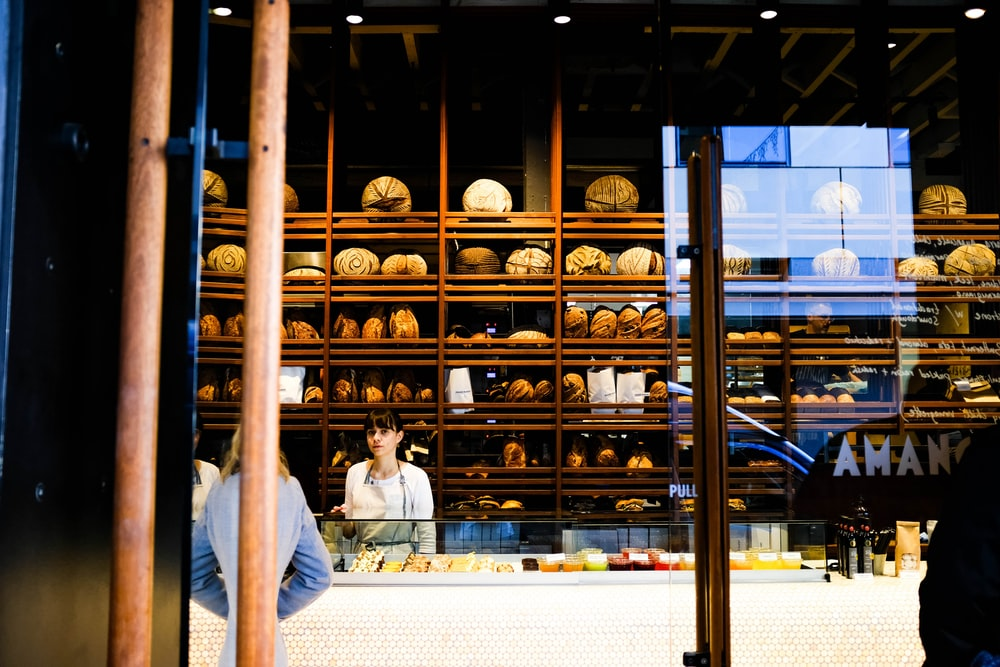 bread store during daytime