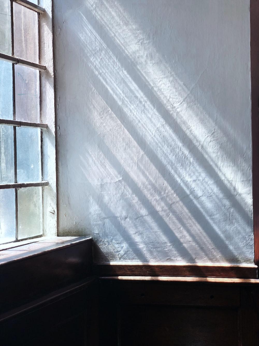 sunrays streaming through window