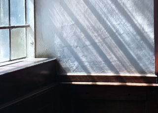 sunrays streaming through window