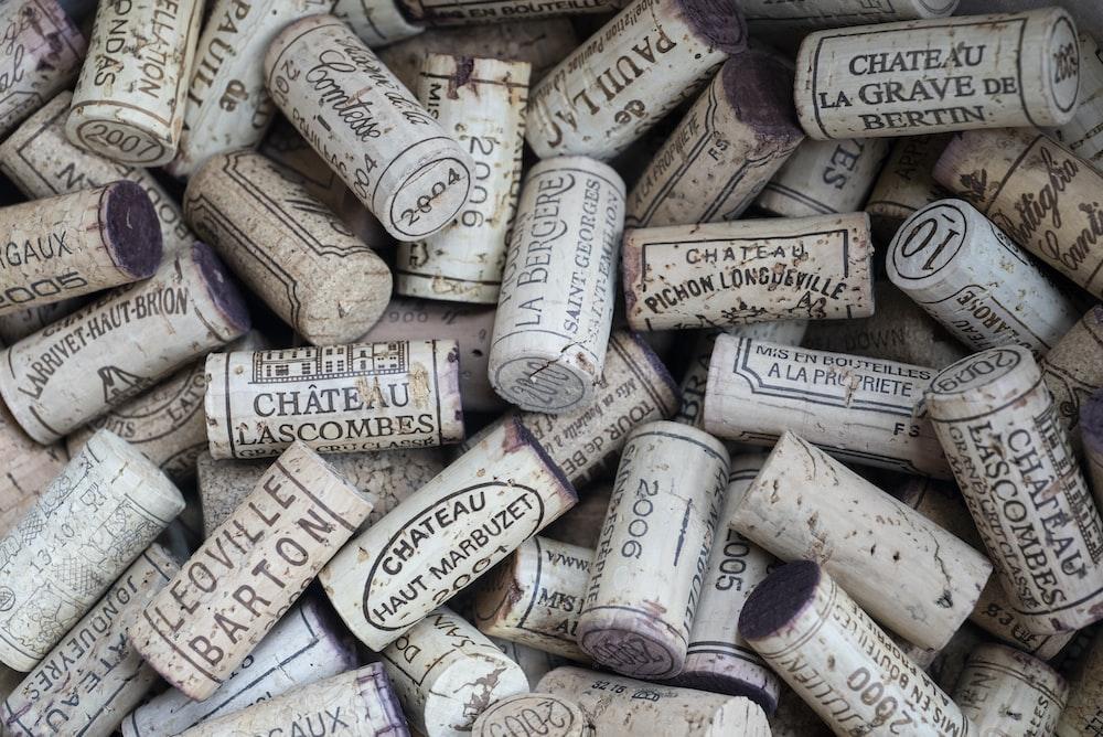 bottle cork lot