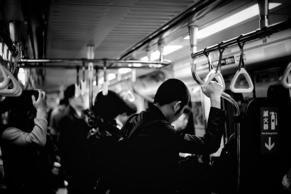 people inside the train