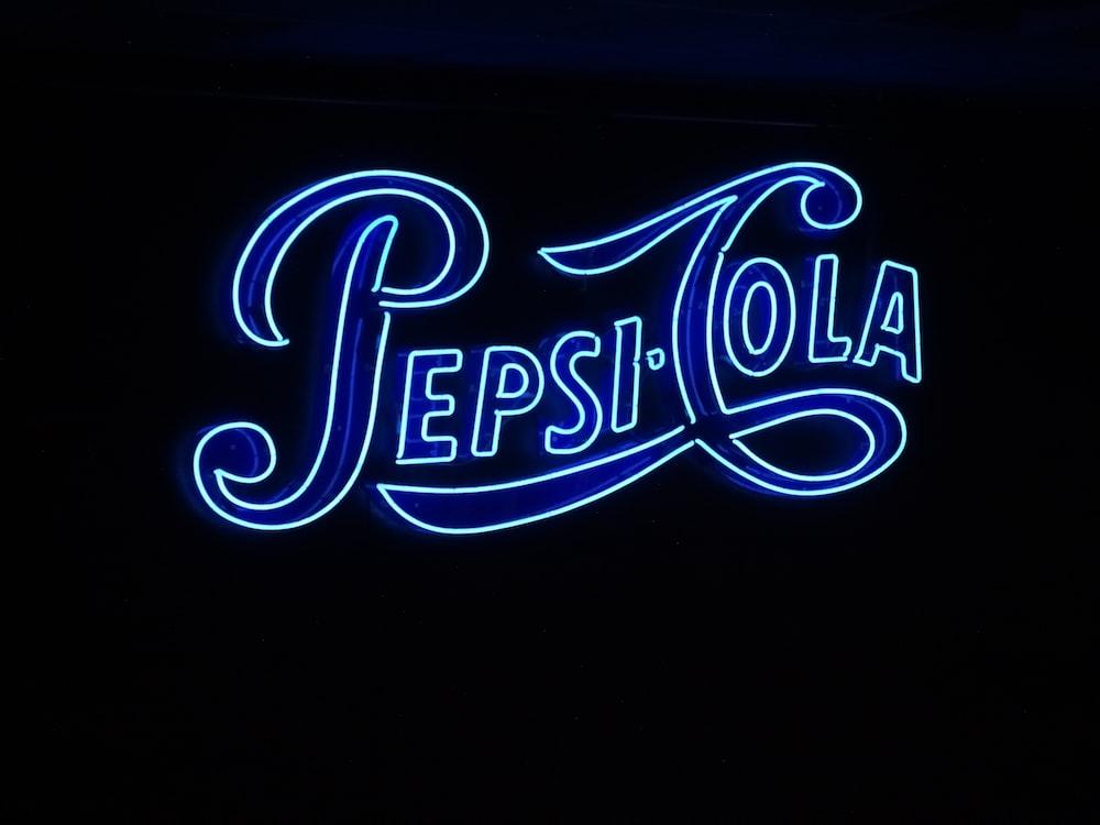 Pepsi-Cola signag