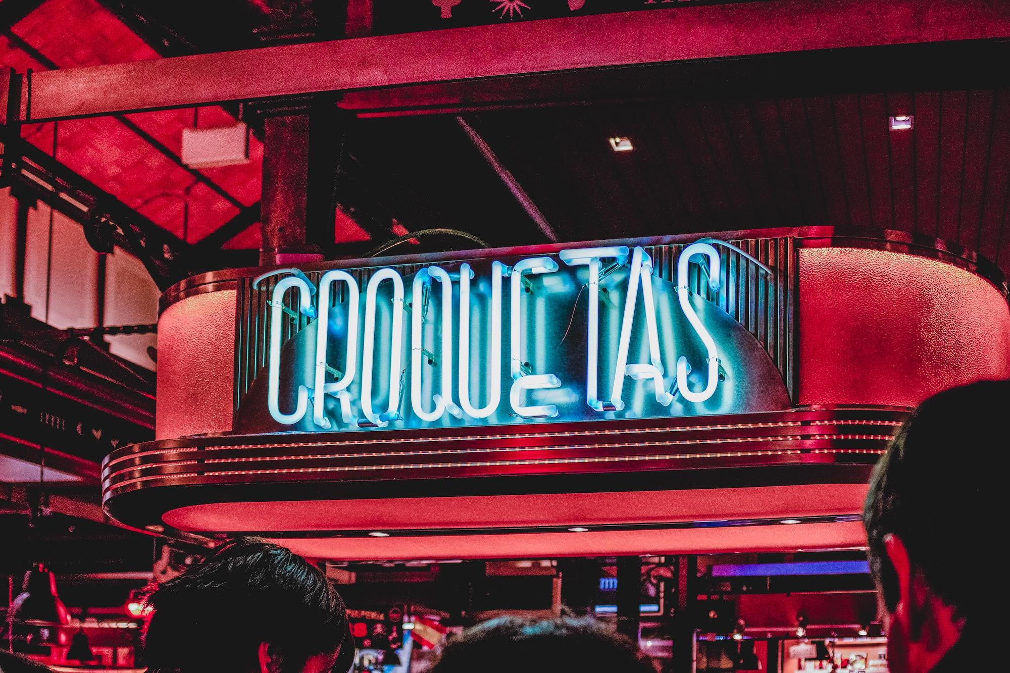 Croquetas - Mercado San Miguel