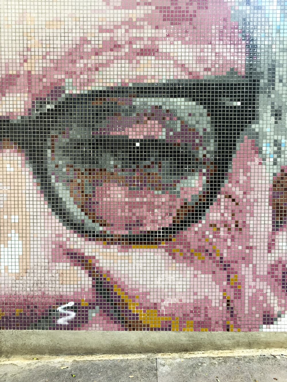 painting of man with eyeglasses