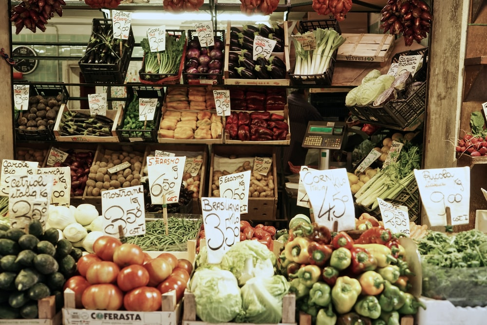 assorted-variety of fruits on stall