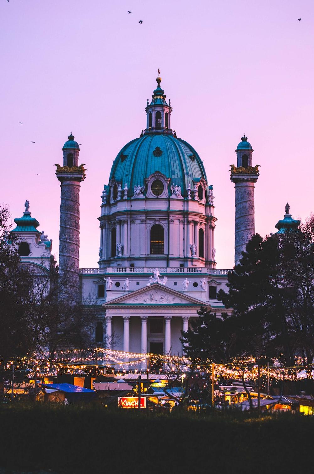Karlsplatz S Christmas Market Vienna Austria Pictures Download