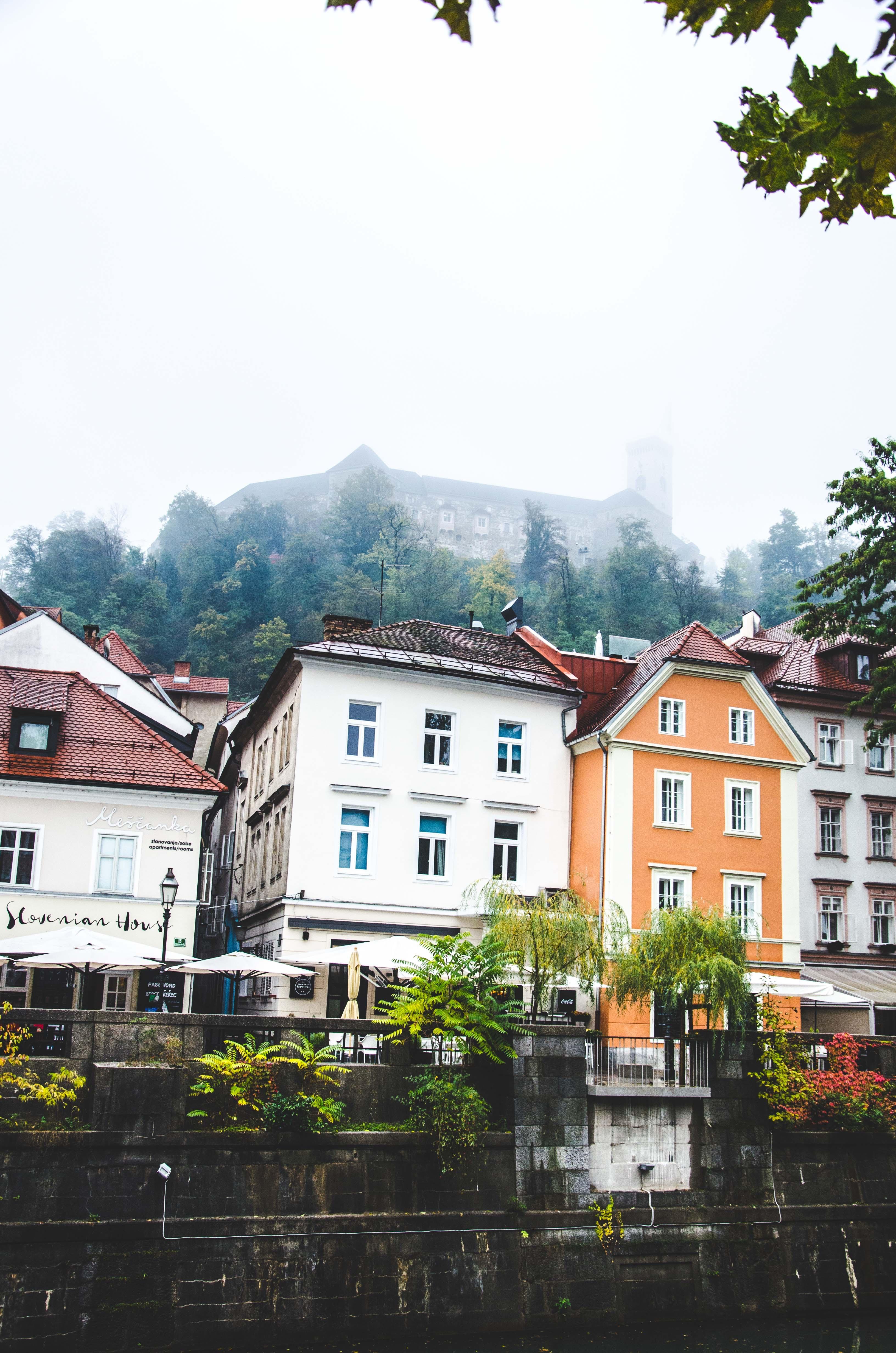 white concrete houses during daytime