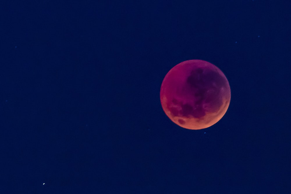 blood moon wallpaper