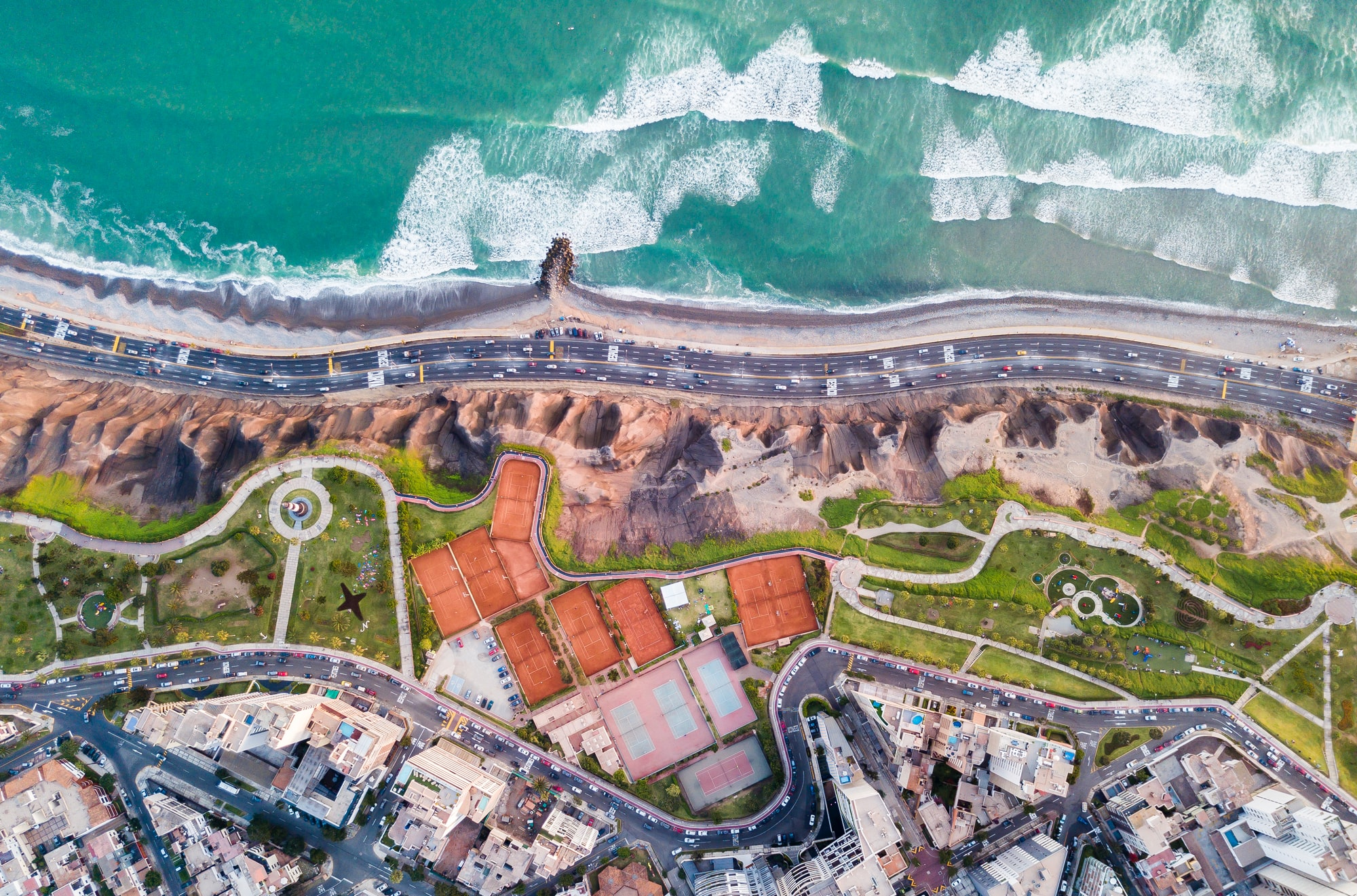 Lima from above