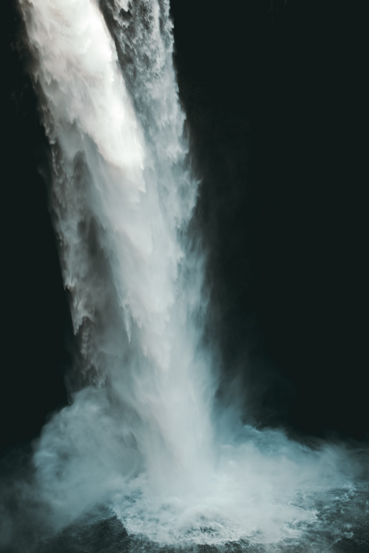 water falls scenery