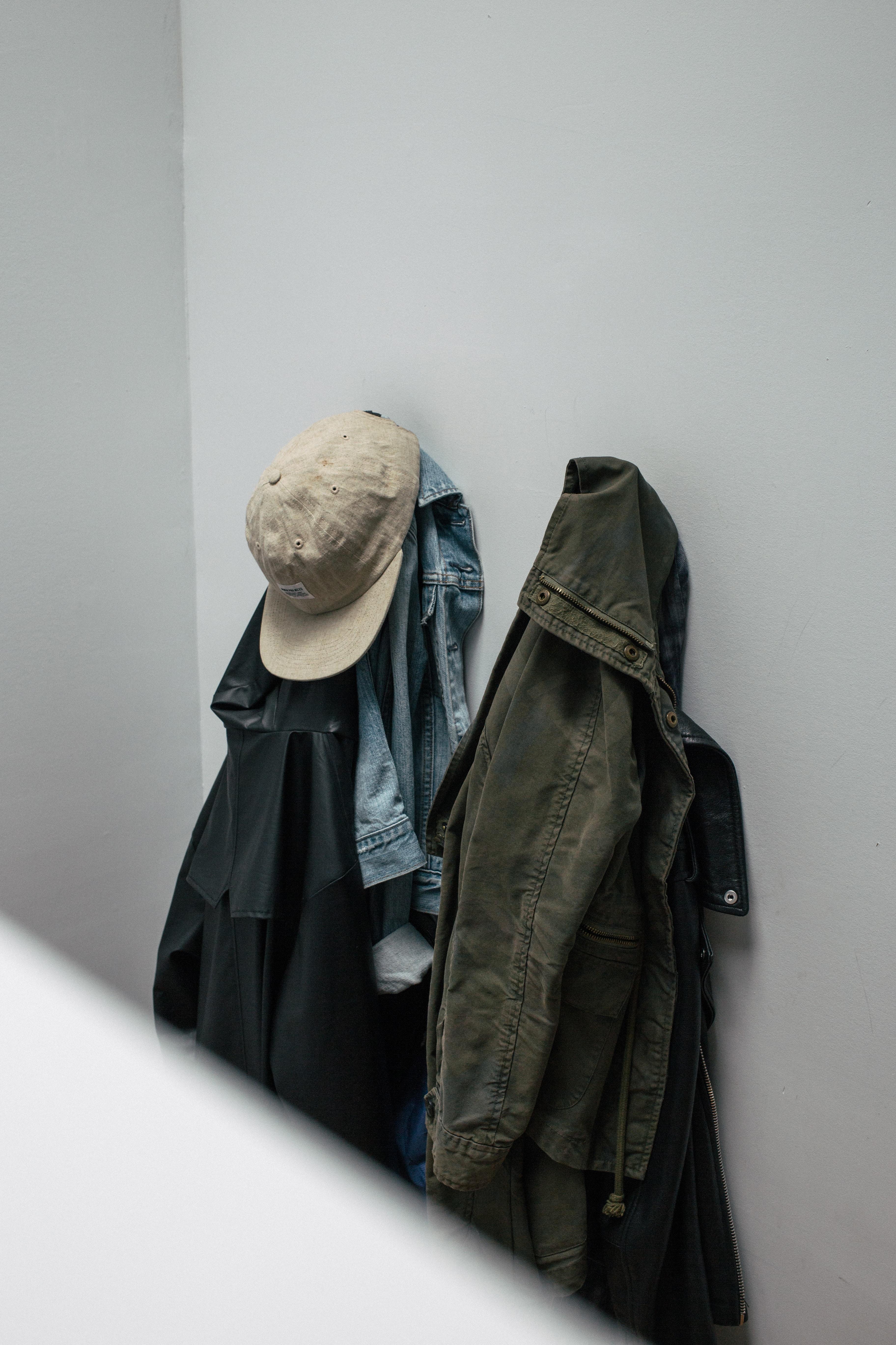 gray denim jacket hang on wal