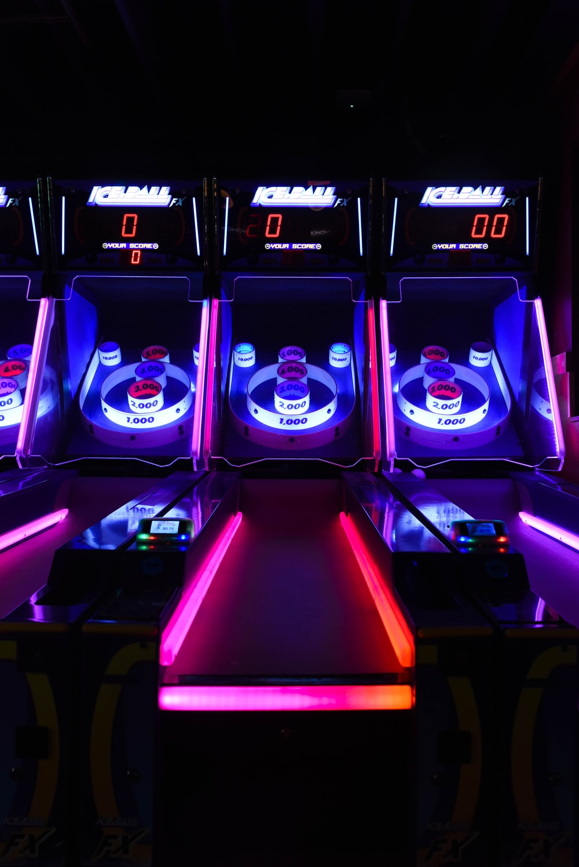 basketball arcade machine showing 00
