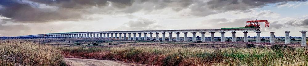 panorama photo of bridge