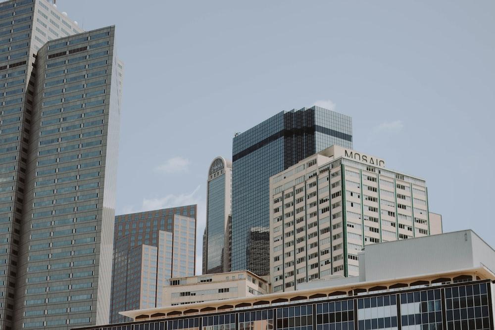 high-rise buildings under clear sky