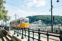 Yellow Tram of Budapest