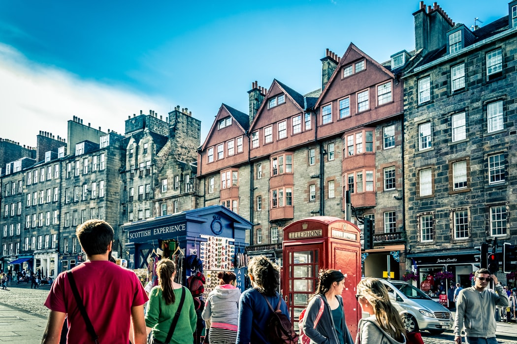 the royal mile: Edinbrugh's attraction