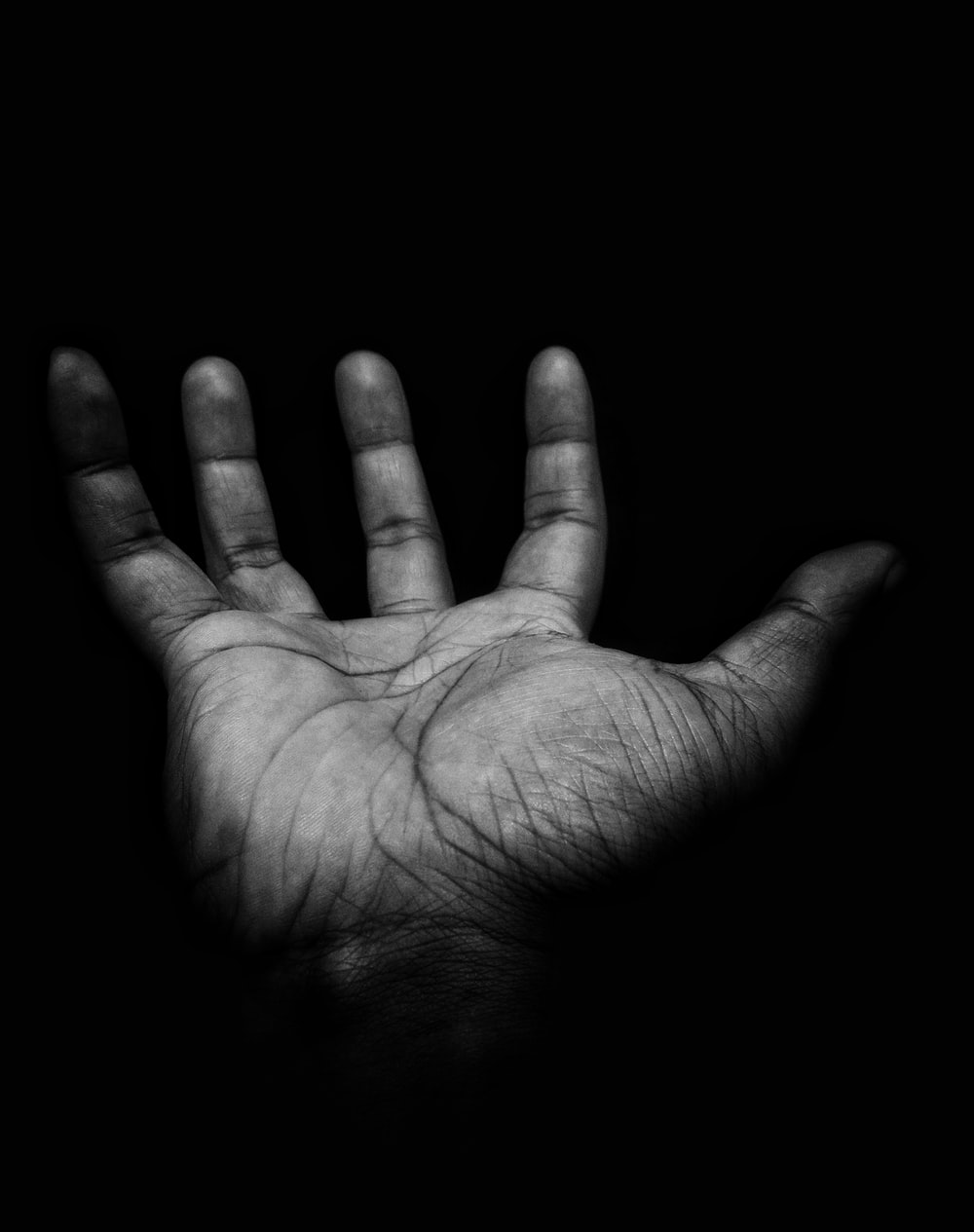 right person's palm