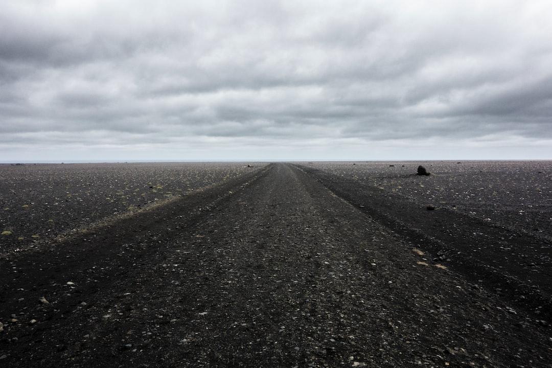 Solheimasandur solitude