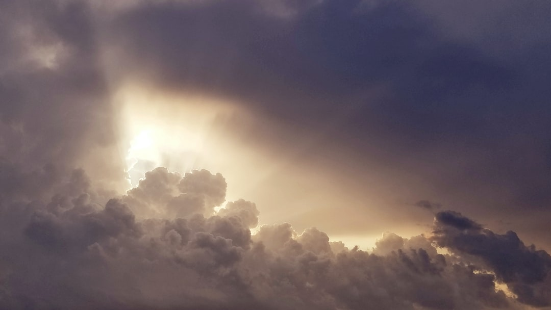 Driving back from work and stock in traffic, I captured this clouds that make feel hope after the storm.