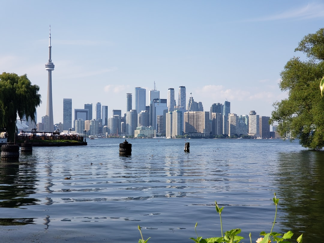 This is a beautiful landscape picture from one of Toronto's islands. This is a scene of the downtown core and Toronto's beautiful skyline. I shot this while I was heading back to Toronto with my friends, we were chilling at the Toronto islands and were heading back. While we were heading back to the ferry I saw this view and I Immediately took out my Galaxy and tried to get the best exposure and depth of field possible. I turned out really good and I was happy with the shot
