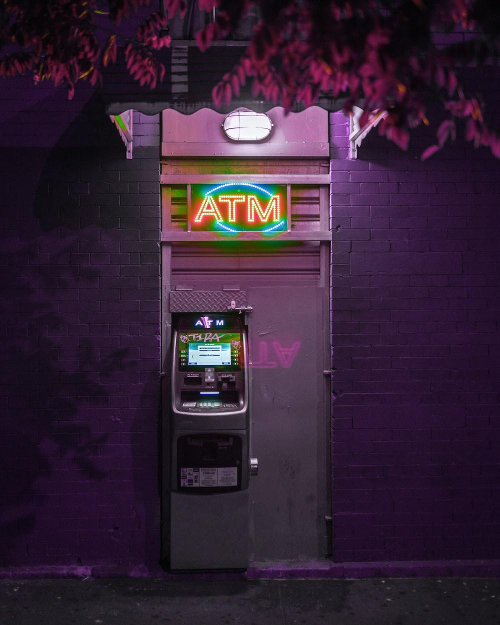lighted ATM
