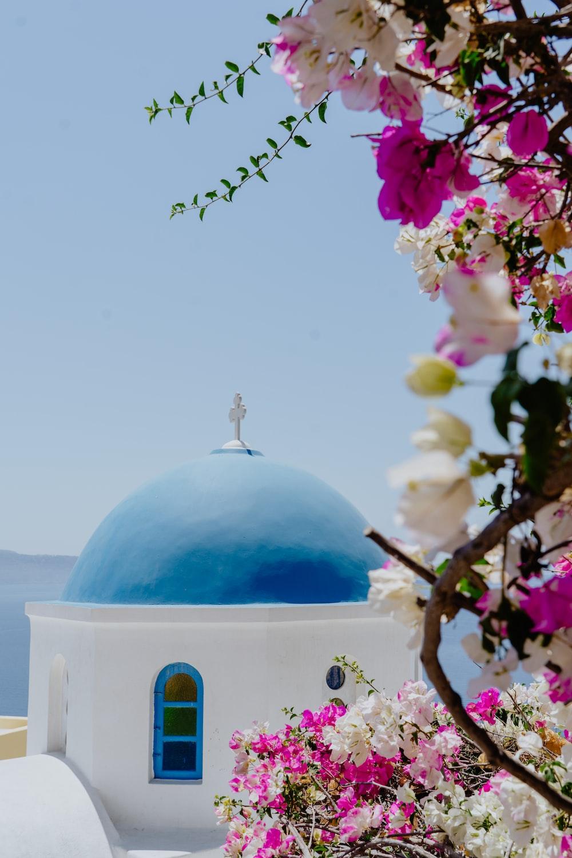 Santorini Dome Chapel, Greece