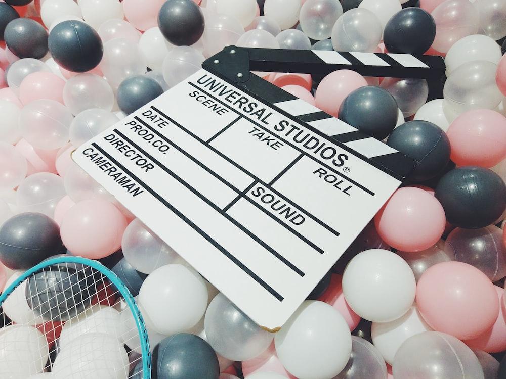 Universal Studio clapboard