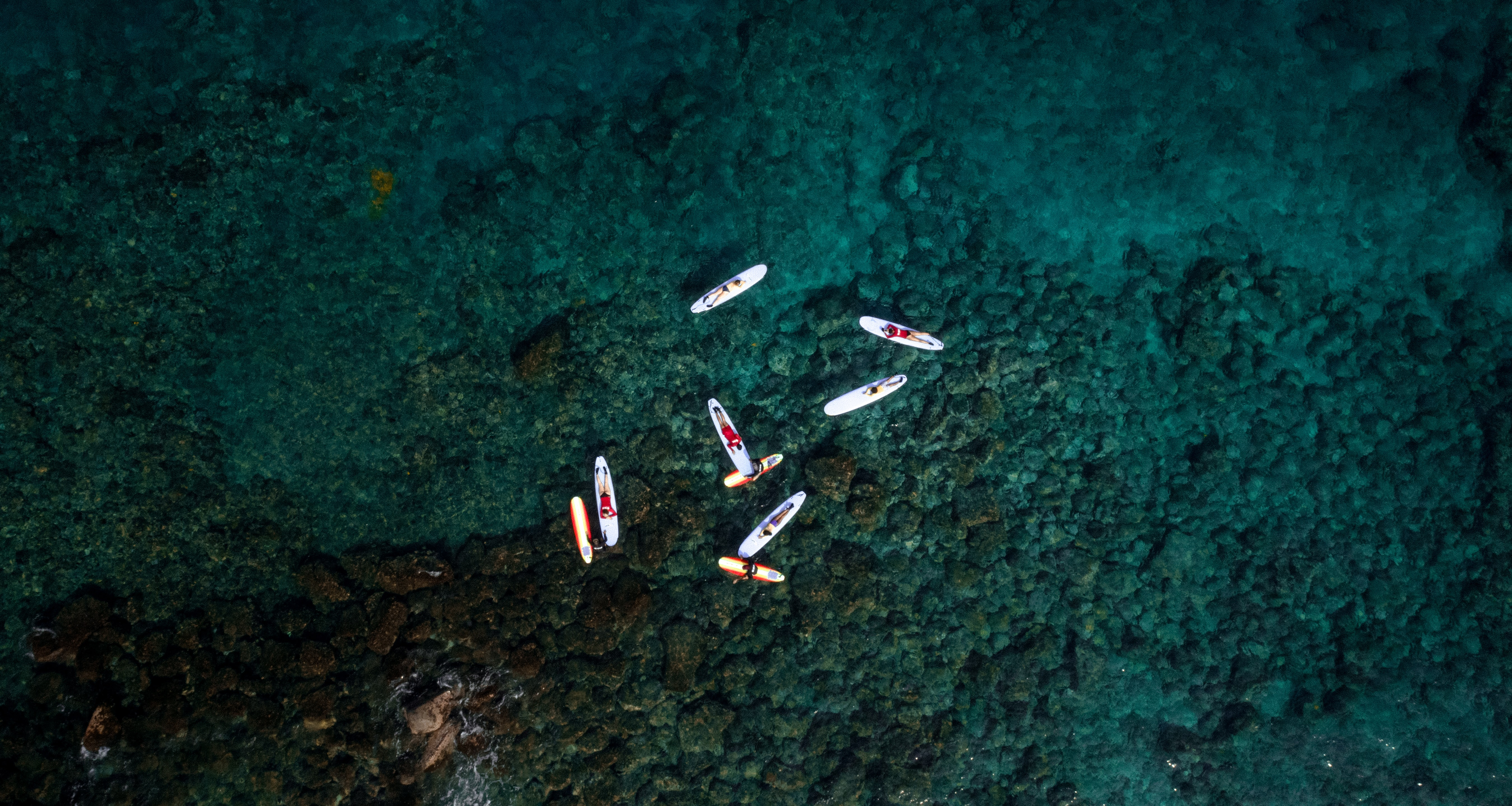 aerial photography of boats on body of water at daytime