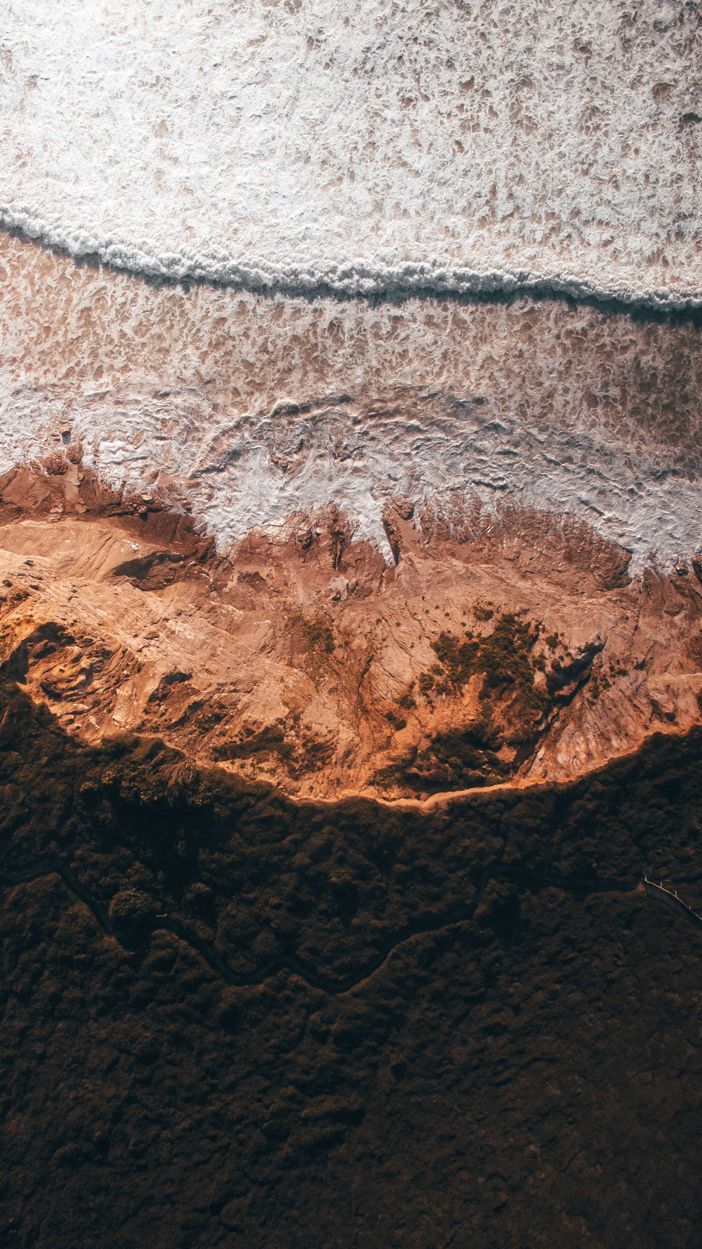 aerial view photography of body of water during daytime