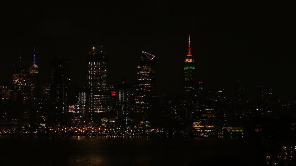 cityscale at night