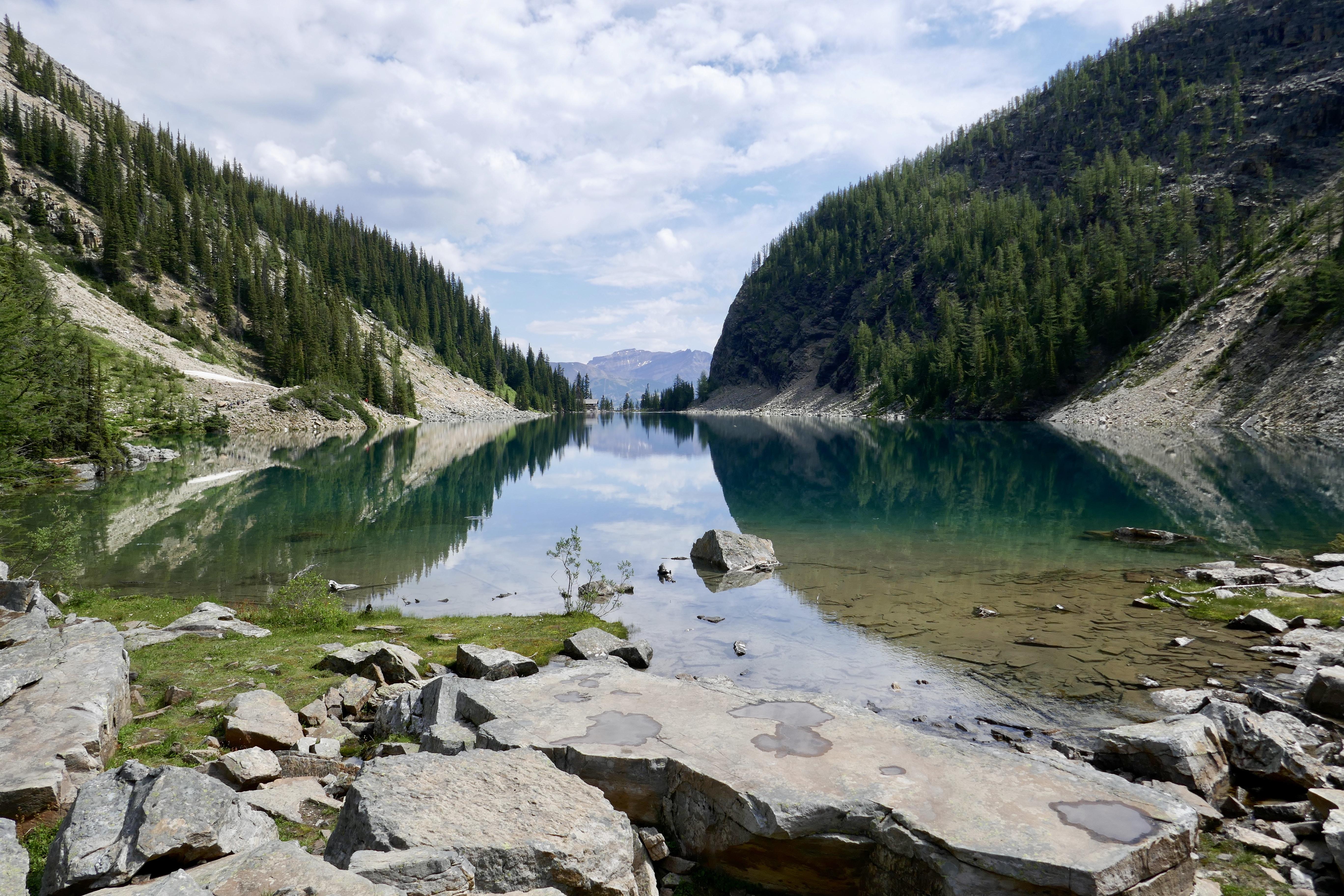 Lake Agnes Reflection
