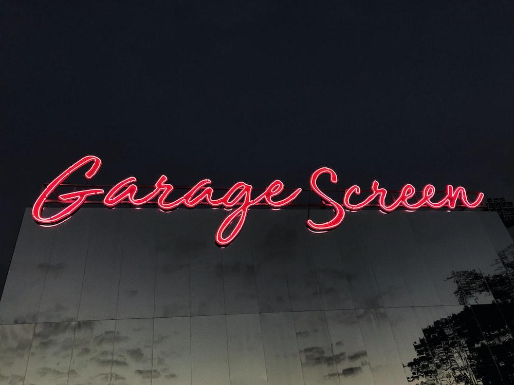 Garage Screen LED signboard