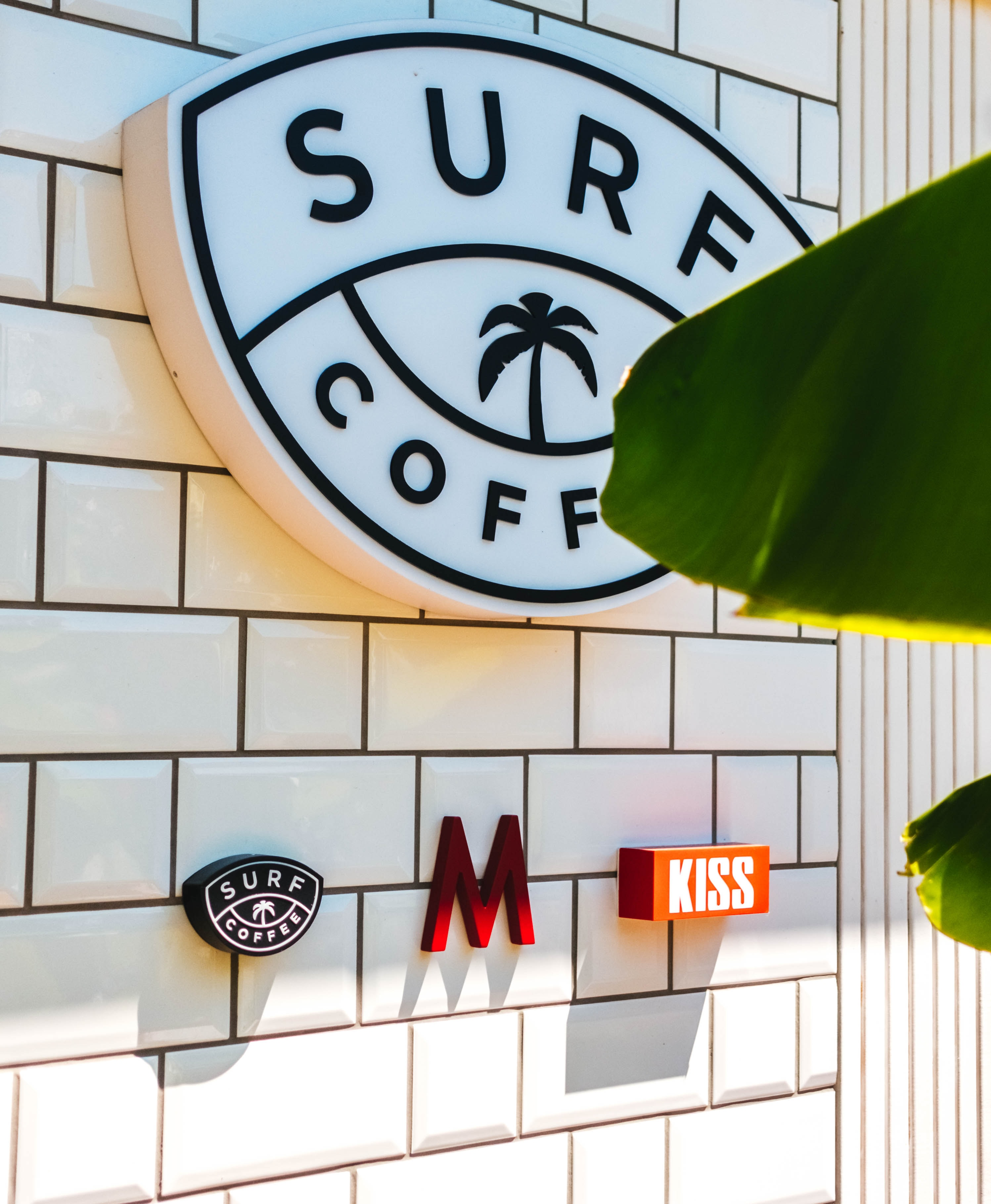 Sure Coffee signage