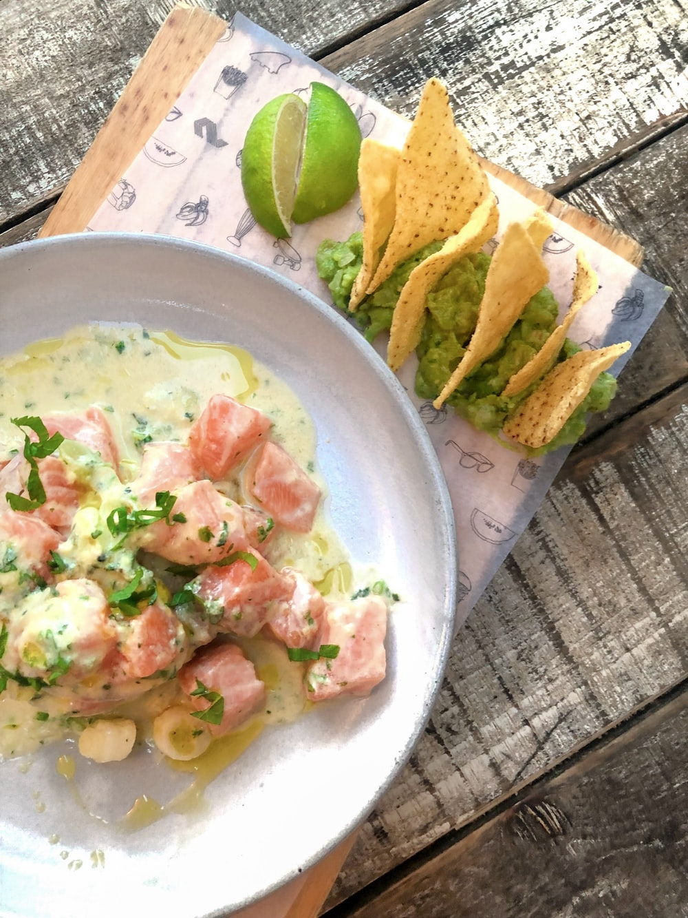 fish fillet salad
