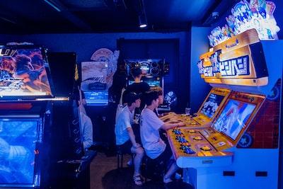 game arcade room