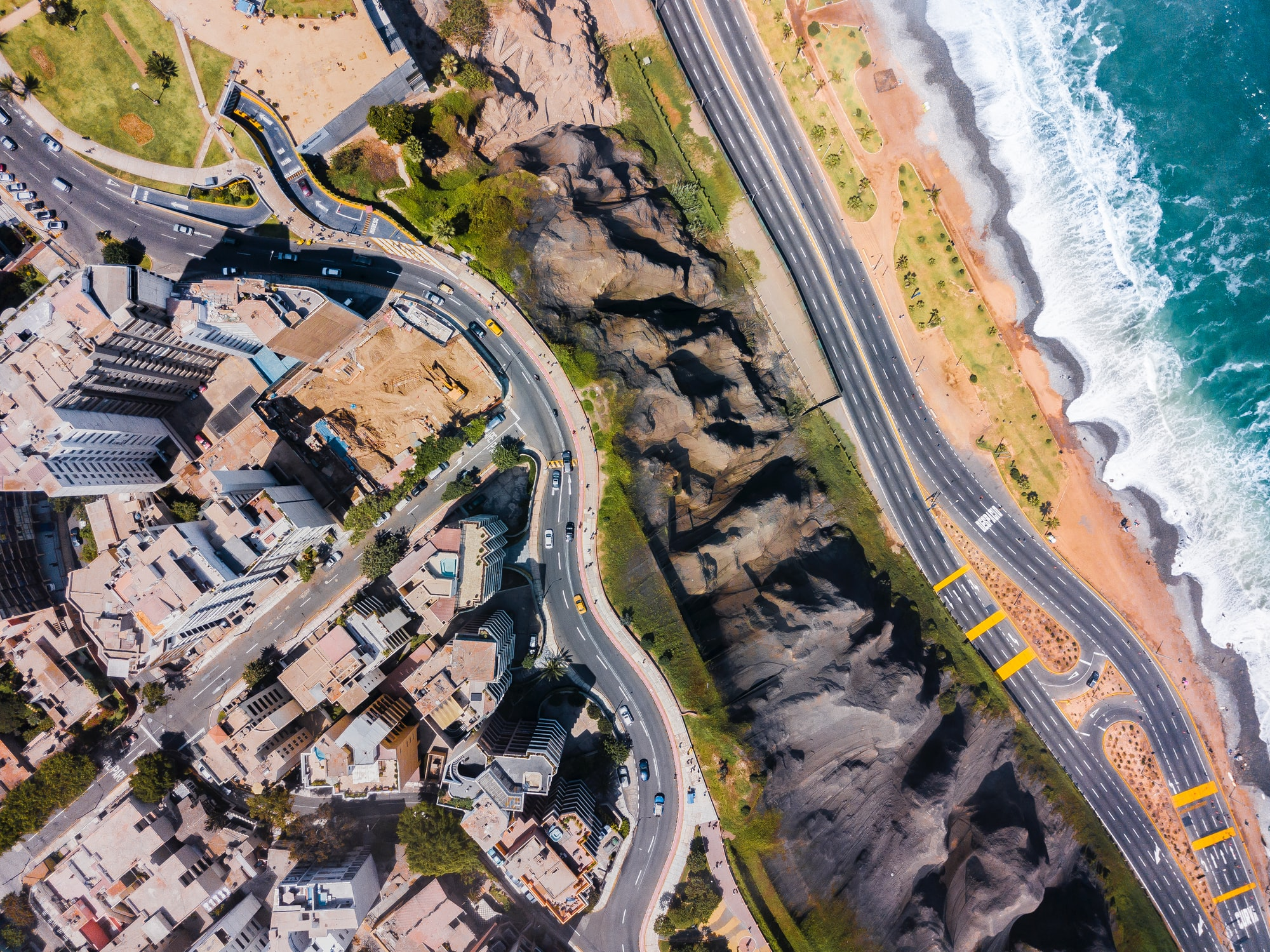 Miraflores from Above