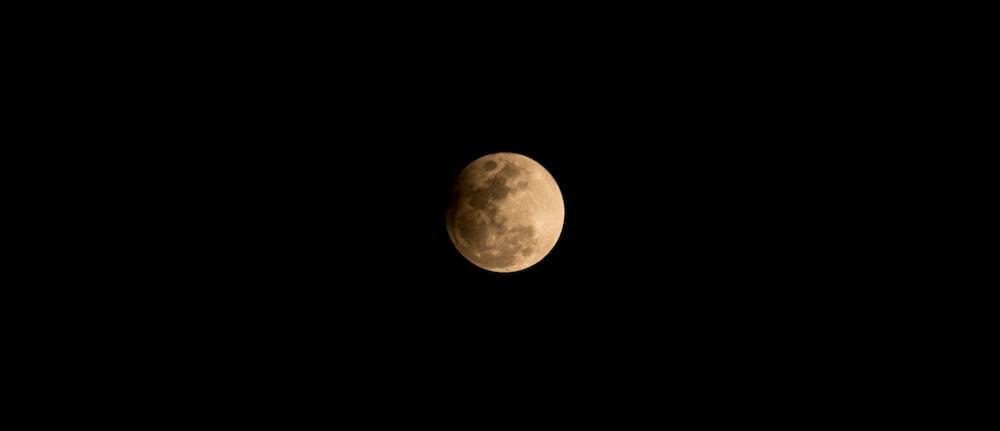 full moon during nighttime