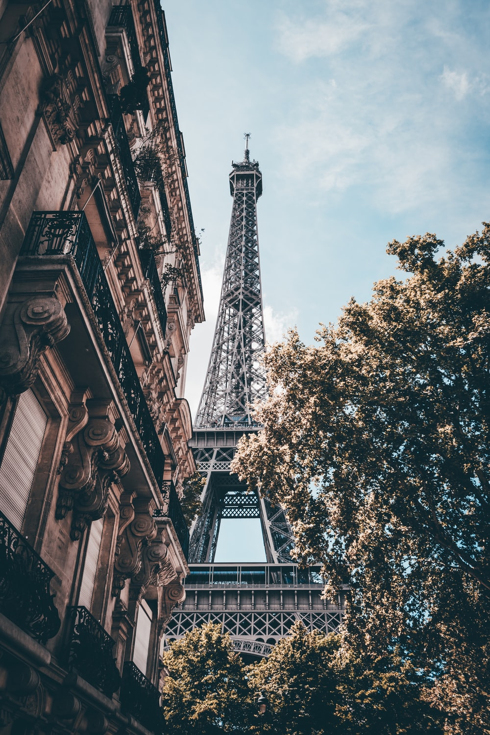 Tower pictures hd download free images on unsplash eiffel tower under blue sky stopboris Images