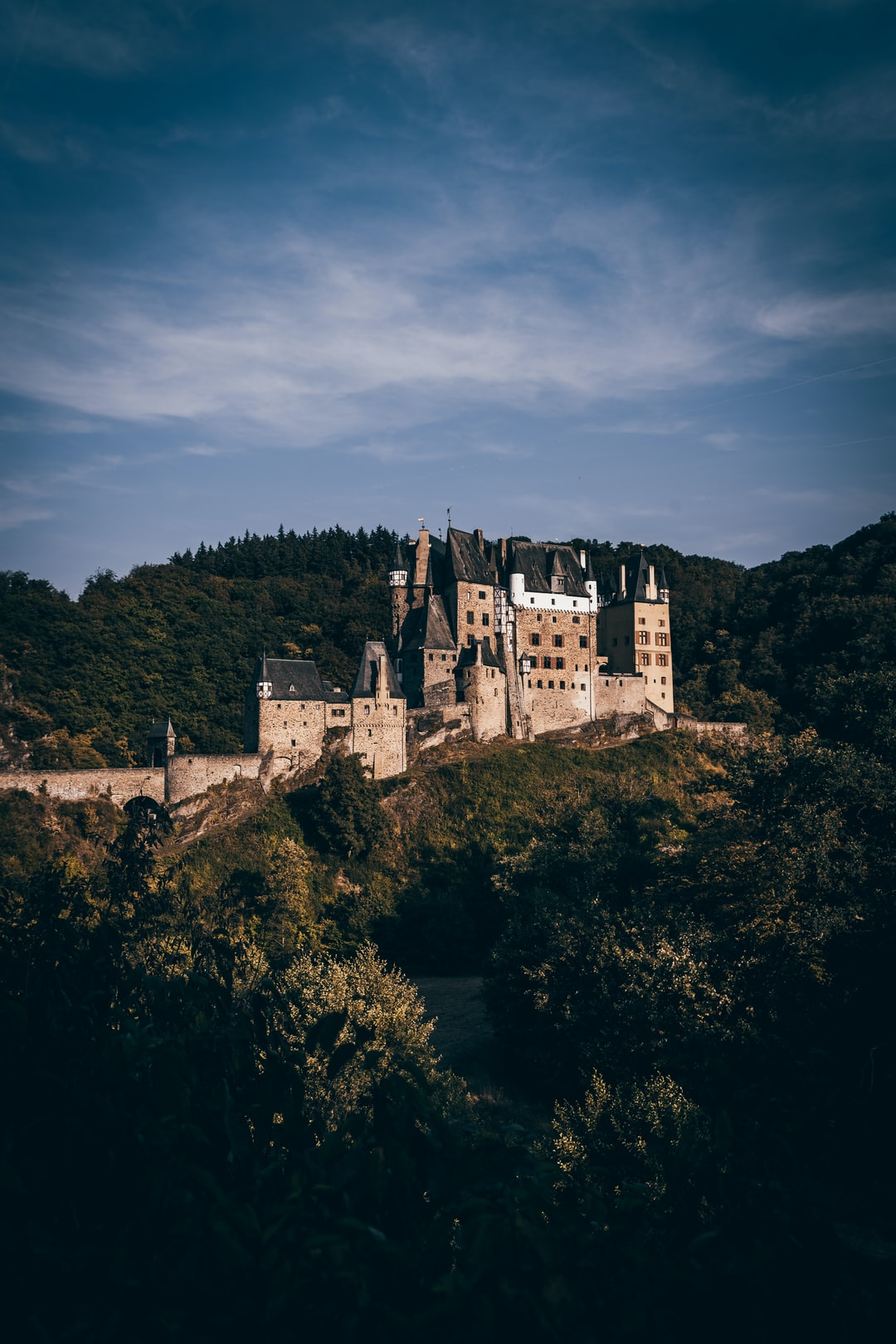 Last weekend I drove through Germany with my dad. We stopped at Burg Eltz, which i believe is one of the most beautiful castles in the world.