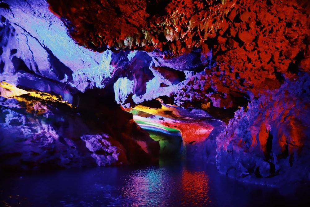 multicolored rock formation