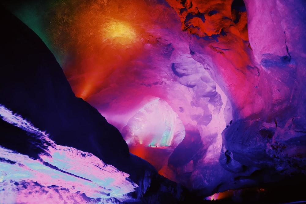 multicolored digital wallpaper