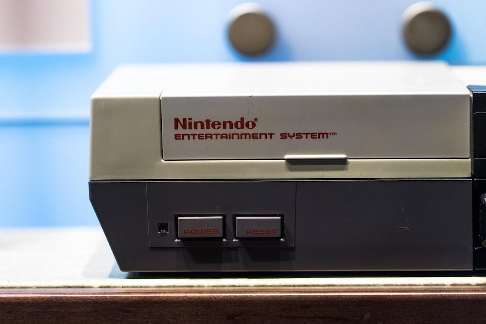 Classic SNES console