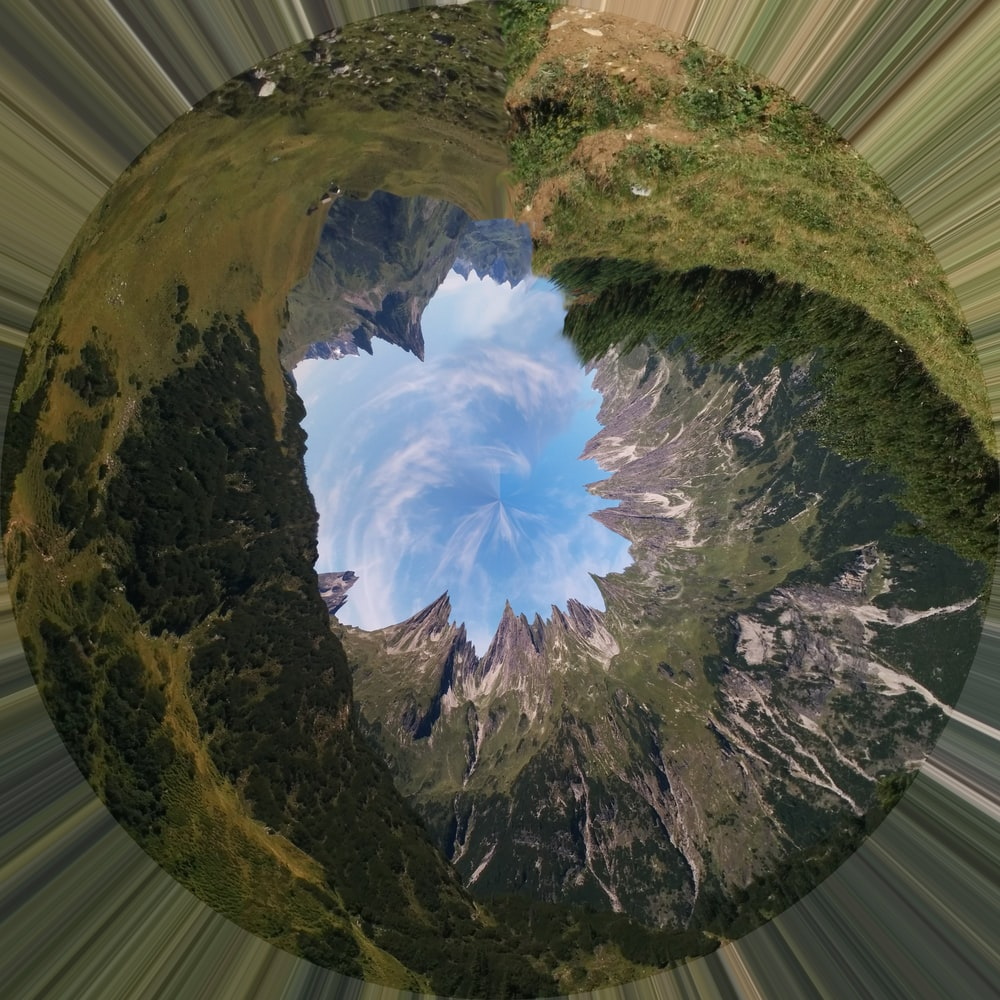 mini planet photography