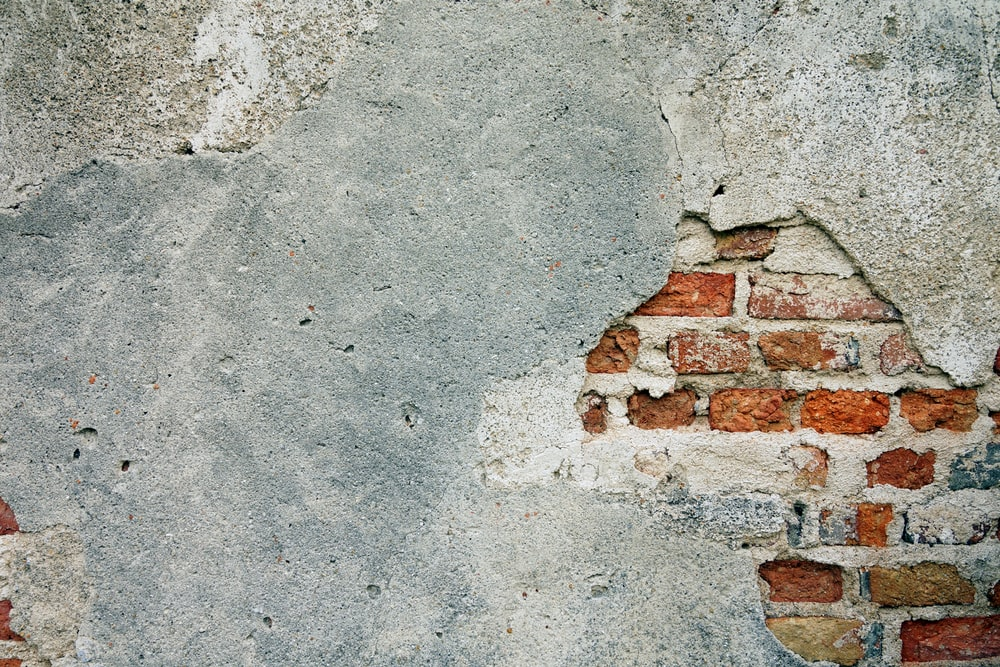 brown brick concrete wall